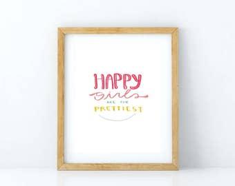 Happy Girls - DIGITAL PRINT