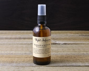 Sensual Massage Oil / Aphrodisiac Love Oil / Intimate Oil