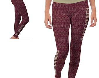 Florida State FSU Seminoles Yoga Pants Designs