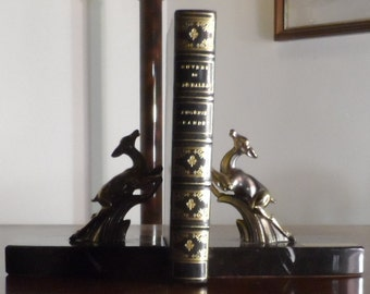 New price-pair of bookends fawns