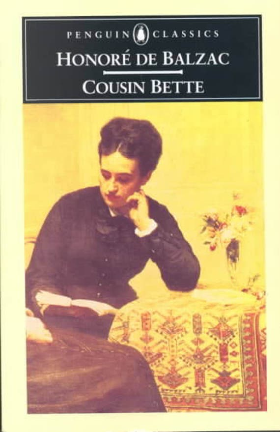 Honore' De Balzac - Cousin Bette: (Penguin Classics)