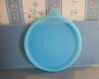 "Vintage Tupperware Seal ""A"" New Never Used in Ice Blue from 1980's"