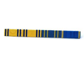Vintage military ribbon bar , Military ribbon badge , Military Insignia, Swedish military , sweden army , collectible badge