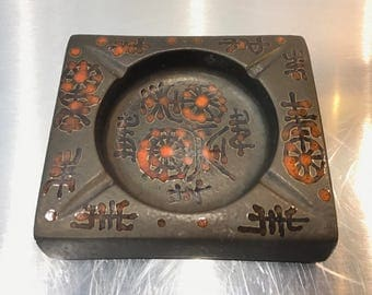 Sascha Brastoff pottery Ashtray