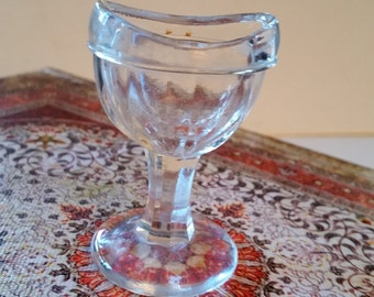 "Old glass eye ""wash"" cup"