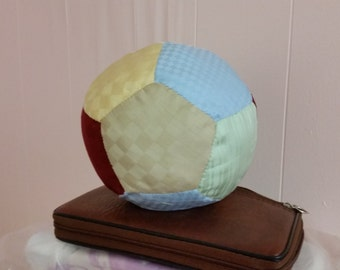 """Organic Baby Soft Ball Made with Organic cotton fabric and Eco down fiber  3"""" to 6"""" in diameter"""