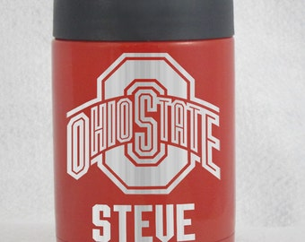 12 oz Yeti Colster Red Ohio State personalized custom Authentic
