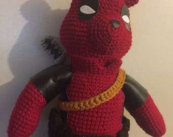 Pooh, amigurumi, crochet, marvel, dead