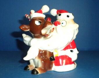 Kreiss Christmas - Rudolph Tied Up in Santa's Beard!