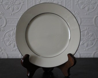 Lenox Maywood Platinum Trim Bread Plate