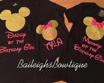 Family Birthday Shirts