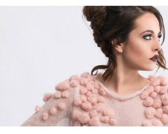 "Sweater ""Pink Cloud"""