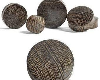 Areng wood plugs pair