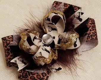 Bucks Stacked Boutique Hairbow