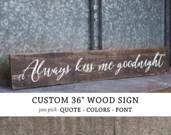 CUSTOM WOOD SIGN, custom quote on wood, custom pallet sign, personalized, lyric, farmhouse decor pallet art custom verse sign, phrase