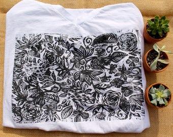 Botanical Print T-Shirt
