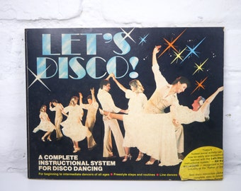 Let's Disco Dance Instruction Book