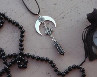 lunar onyx-pendant