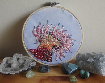 Sea Anemone Embroidery