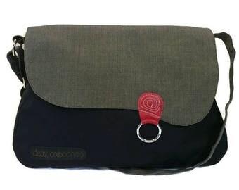 Messenger bag,shoulder bag,large cross body bag,diaper bag, traveling bag, laptop bag, large shoulder bag, school bag, black messenger bag