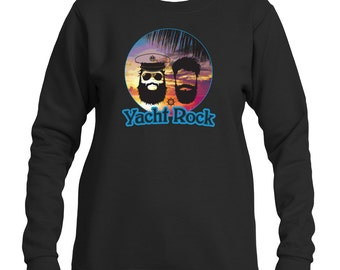 Yacht Rock AOR Music Graphic Long Sleeve Sweatshirt
