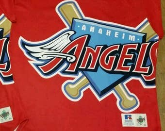 Anaheim angels jersey,tatc jersey,Turn ahead the clock jersey,Russell authentic diamond collection jersey size 48/ XL