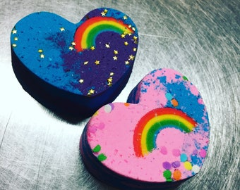Rainbow Love Bath Bomb