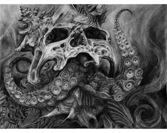 "Fine Art Giclee Print ""Davy"""