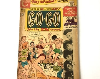 1967 GO GO Teen Comic Book Paul Revere and the Raiders Charlton Comics