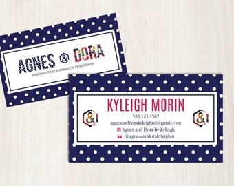Agnes & Dora Business Card