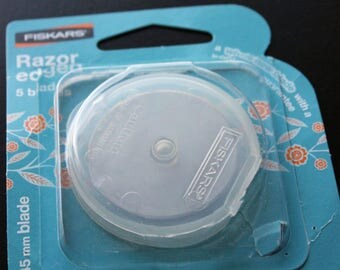 Fiskars 45mm Rotary Blades Razor Edged 5 Blade Package Replacement Rotary Blades New In Original Package