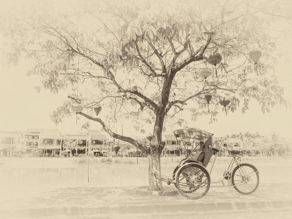 VIETNAM STORIES  6. Sepia Tone, Vietnam Print, Hoi An, Travel Photography, Artistic Photography, Photographic Print, Limited Edition