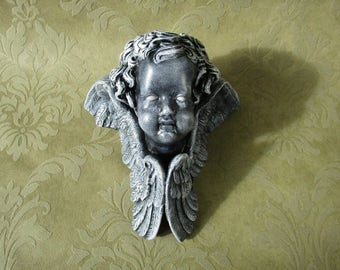 Dark Cherub Wall Hanging