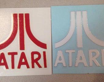 Decal STICKER Atari Video Game Logo