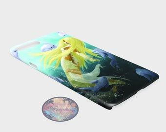 Case iphone , phone case, phone case, iphone 7plus, mermaid phone case, protector phone, iphone protector, phone case mermaid
