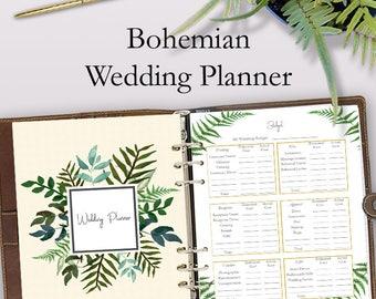 Wedding Planner Book, Wedding Planner Printable, Planning Binder Printables, Checklist Planning Printables, Letter Size, Instant Download