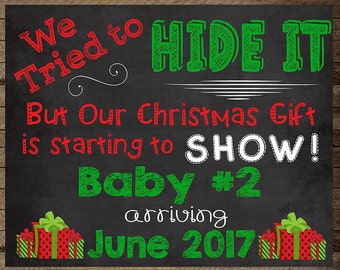 Christmas Pregnancy Announcement, Christmas Baby, announcement, maternity, gift, Pregnancy reveal christmas, pregnancy chalkboard, winter