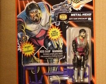 GI Joe Metal-Head Action Figure 3-3/4 inch 1993