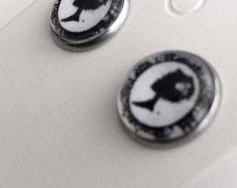 Earrings - Coquette cameo