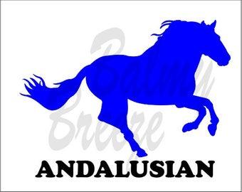 HN - 1 Andalusian  Vinyl Decal