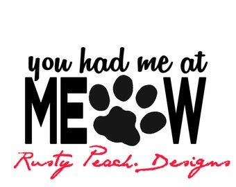 You Had Me At Woof Vinyl Decal Choice Of Color Rescue Dogs