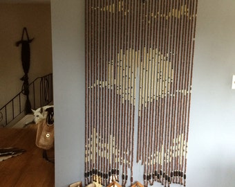 Vintage Beaded Door Hanging, From The 70u0027s Untouched, Well Worn And  Well Used,