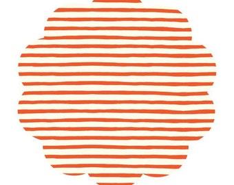 Sailor stripe print fabric. Saltwater print fabric. Organic apparel/ quilt cotton fabric. DIY sewing cotton fabric. Modern ocean fabric.