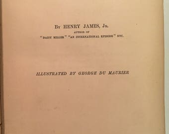 Washington Square by Henry James - first edition