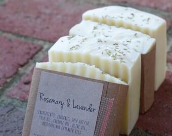 Rosemary & Lavender Handmade Soap - Organic
