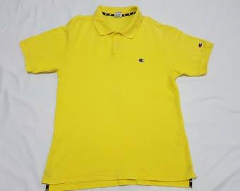 Vintage CHAMPION Usa Embroidered Logo Polo shirt product
