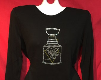 Pittsburgh Penguins Rhinestone crystal womens Single stanley cup SHORT LONG sleeve Misses S, M, L, XL, Plus size 1x, 2X, 3X Shirts
