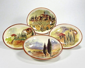 Tuscan Landscape Dipping Bowls