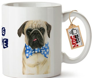 Pug Life - Funny - Mug Cup - Pet Dog Lovers
