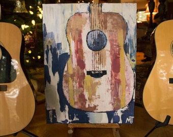 "Original Oil Painting ""Painted Music"""